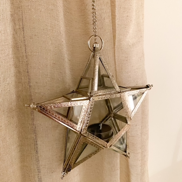ster lantaarn zilver marrakech