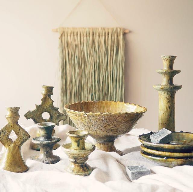 Tamegroute marokkaans aardewerk