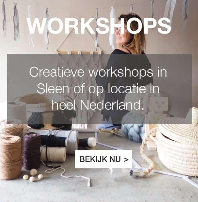 Creatieve workshops boeken